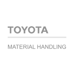 Logo Toyota material handling cliente Matchpoint